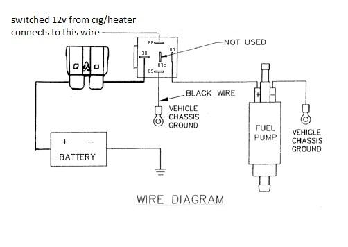 Aamidis Blogspot Com  12v Relay Wiring Diagram Fuel Pump