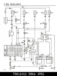 Headlight question | Ae86 Headlight Wiring Diagram |  | Dori-Kaze