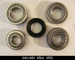 Click image for larger version.  Name:Differential Bearings & Seal.jpg Views:610 Size:44.9 KB ID:10951
